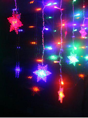 Shops Christmas Indoor Decor Snowflake Pendant LED String Light - COLORFUL  Mobile