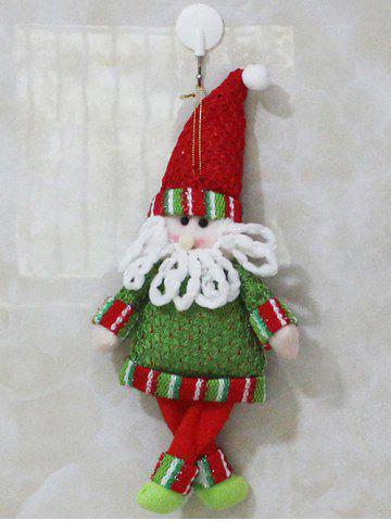 Sale Christmas Decor Santa Hanging Doll Pendant Best Gift RED/GREEN