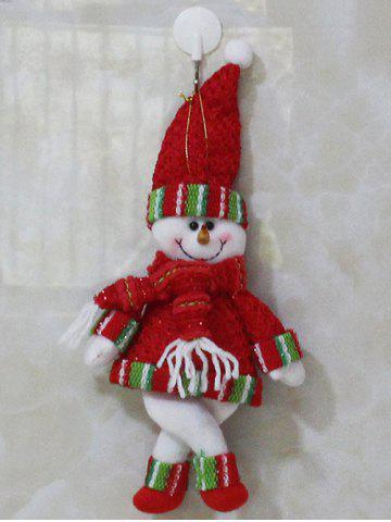 Shops Christmas Gift Snowman Pendant Xmas Tree Decoration