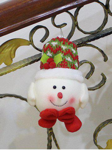 Buy Christmas Gift Snowman Doll Pendant Xmas Tree Decoration RED/WHITE