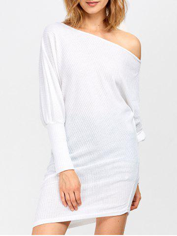 Shops Skew Collar Asymmetric Dress