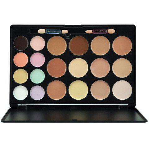 Chic 20 Colours Concealer Palette Kit - BLACK  Mobile