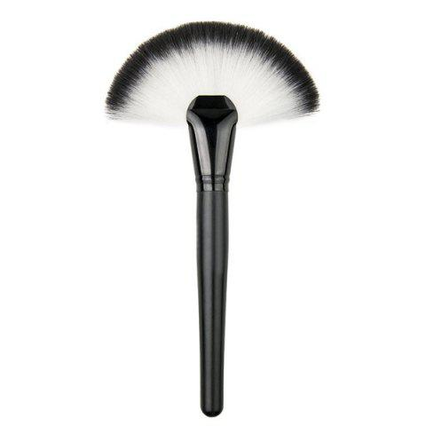 Outfits 4 Pcs Makeup Brushes and Makeup Sponge - BLACK  Mobile