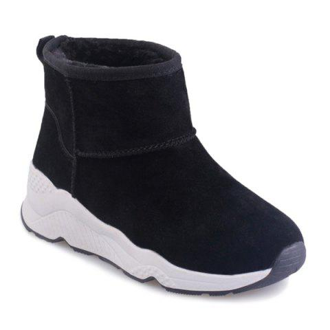 Hot Casual Platform Suede Snow Boots