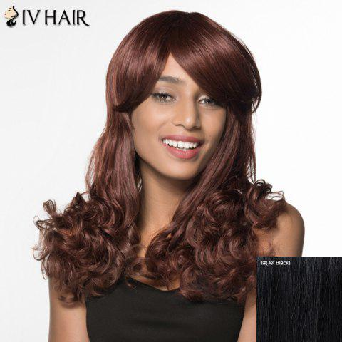 Best Boutique Long Side Bang Wavy Siv Hair Human Hair Wig