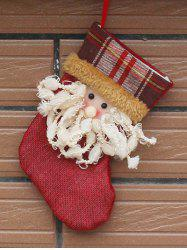 Santa Present Stocking Sock Christmas Tree Festival Decoration