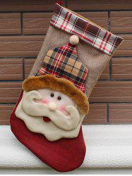 Christmas Santa Hanging Stocking Decoration Present Bag Sock