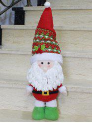 Christmas Gift Standing Santa Claus Doll Xmas Decoration -