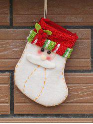 Christmas Santa Xmas Tree Decor Hanging Present Bag Sock