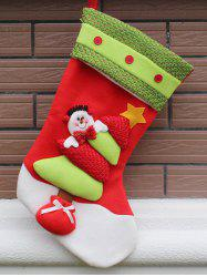 Party Decor Christmas Snowman Hanging Present Bag Sock