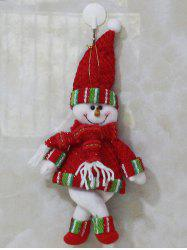 Christmas Gift Snowman Pendant Xmas Tree Decoration -