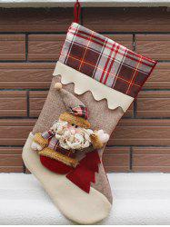 Santa Claus Hanging Candy Present Sock Party Decoration