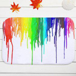 Cool Splash-Ink Antislip Water Absorb Bath Mat - COLORMIX
