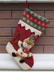 Merry Christmas Decoration Hanging Candy Present Sock - RED