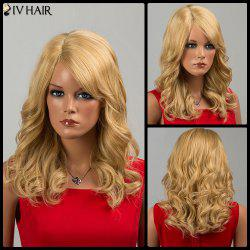 Siv Hair Long Side Bang Curly Human Hair Wig