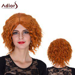 Adiors Short Centre Parting Shaggy Curly Film Character Synthetic Wig -