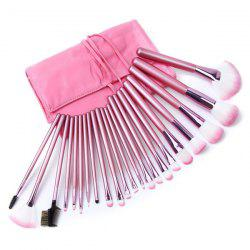 22 Pcs Fiber Makeup Brushes Kit