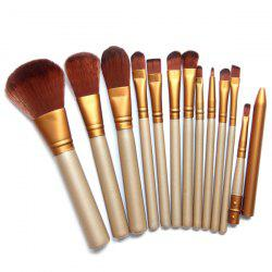 12 Pcs Facial Makeup Brushes Set