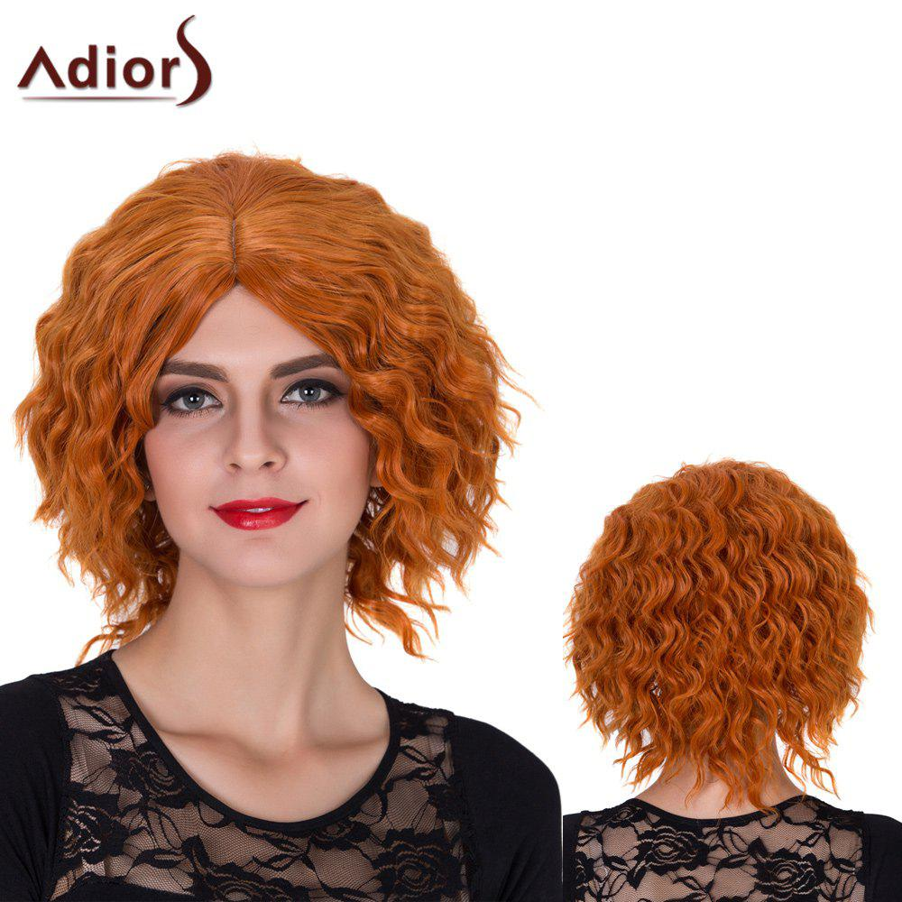 Fashion Adiors Short Centre Parting Shaggy Curly Film Character Synthetic Wig