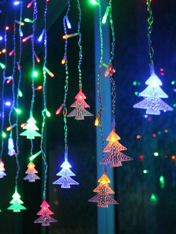 Store Christmas Tree Pendant LED String Light Indoor Decoration Supplies
