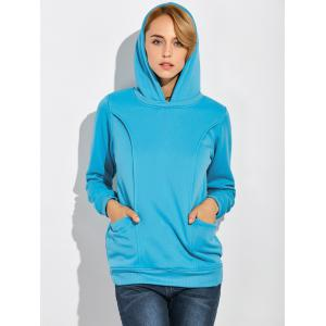 Pullover Maternity Hoodie with Pockets -