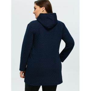 Button Up Lacework Hooded Coat -