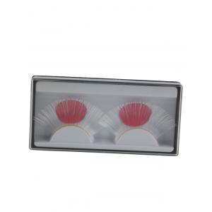 Pair of Japanese Flag False Eyelashes -