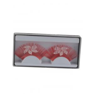 Hong Kong Flag Pattern False Eyelashes -