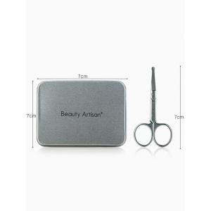 Stainless Steel Eyebrow Scissors with Box -