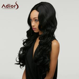 Adiors Long Shaggy Wavy Centre Parting Synthetic Wig -