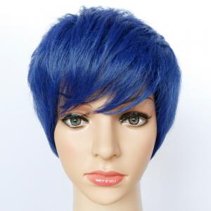 Ultrashort Boy Cut Straight Synthetic Wig -