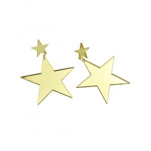 Star Drop Earrings -