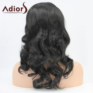 Adiors Hair Medium Wavy Lace Front Synthetic Wig -