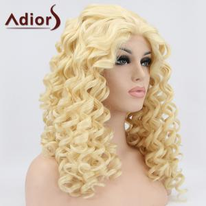Adiors Hair Medium Curly Lace Front Synthetic Wig -