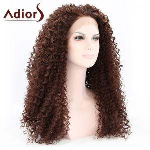 Adiors Hair Long Curly Lace Front Synthetic Wig -
