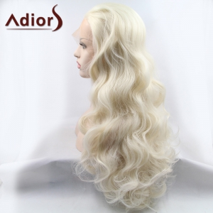 Adiors Hair Gorgeous Long Wavy Lace Front Synthetic Wig -