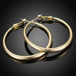 Circle Vintage Hoop Earrings -