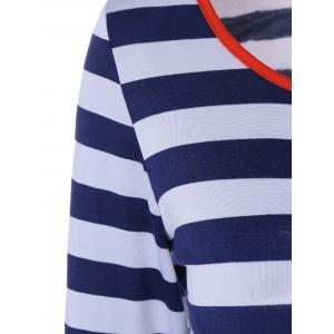 Contrast Striped Tee -