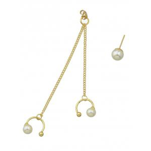 ONE PIECE Artificial Pearl Beads Earring -