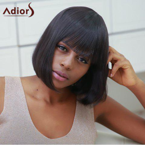 Chic Stylish Synthetic Straight Full Bang Bob Wig For Women