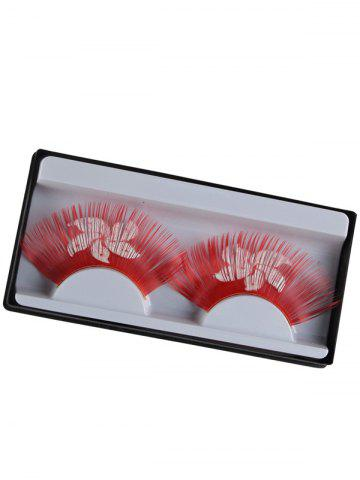 Discount Hong Kong Flag Pattern False Eyelashes
