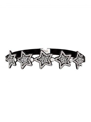 Outfit Star Rhinestoned Choker Necklace