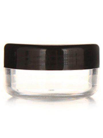 Trendy 2 Pcs Travel Cosmetic Jars
