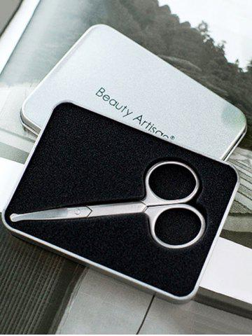 Fashion Stainless Steel Eyebrow Scissors with Box
