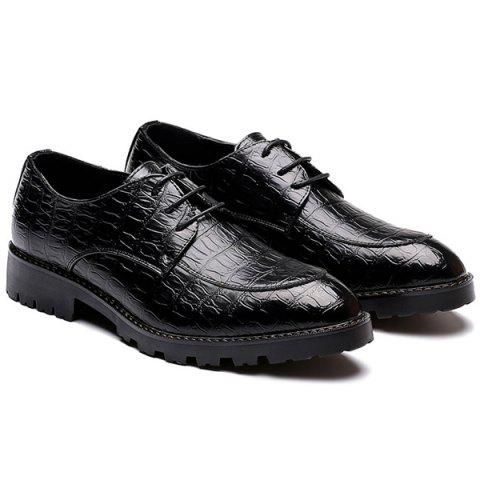 Affordable Tie Up Point Toe Casual Shoes
