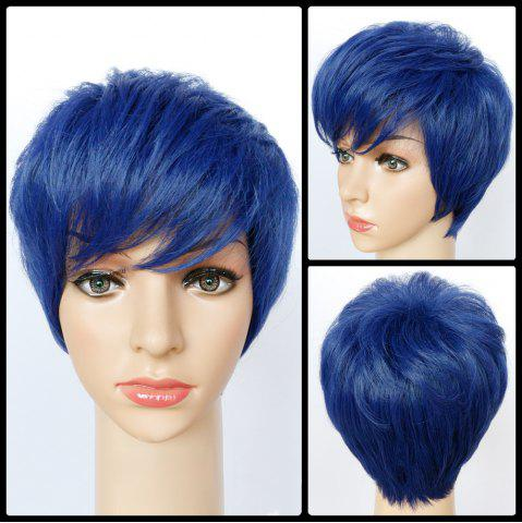 Chic Ultrashort Boy Cut Straight Synthetic Wig