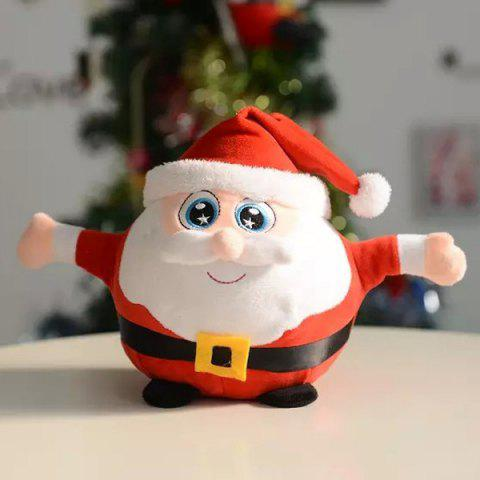 Affordable Christmas Santa Best Gift Glowing Plush Stuffed Doll - RED  Mobile
