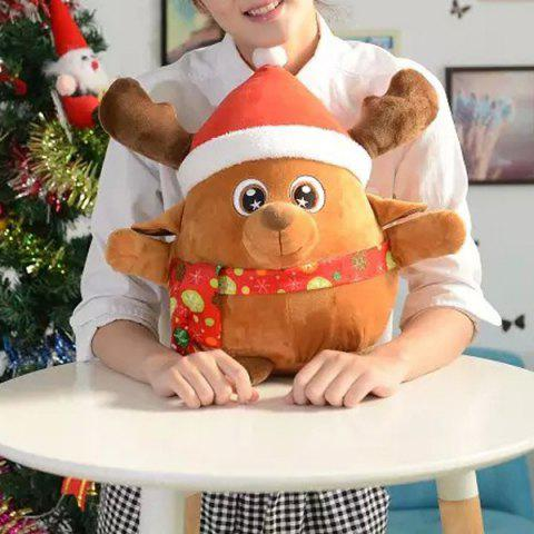 Discount Christmas Decoration Singing Glowing Elk Kids Plush Toy - EARTHY  Mobile