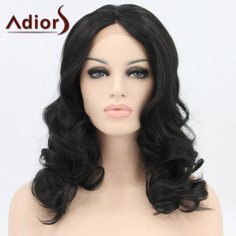 Fancy Adiors Hair Medium Wavy Lace Front Synthetic Wig