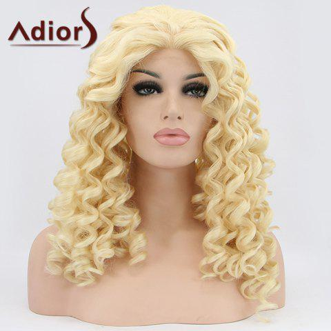 Store Adiors Hair Medium Curly Lace Front Synthetic Wig